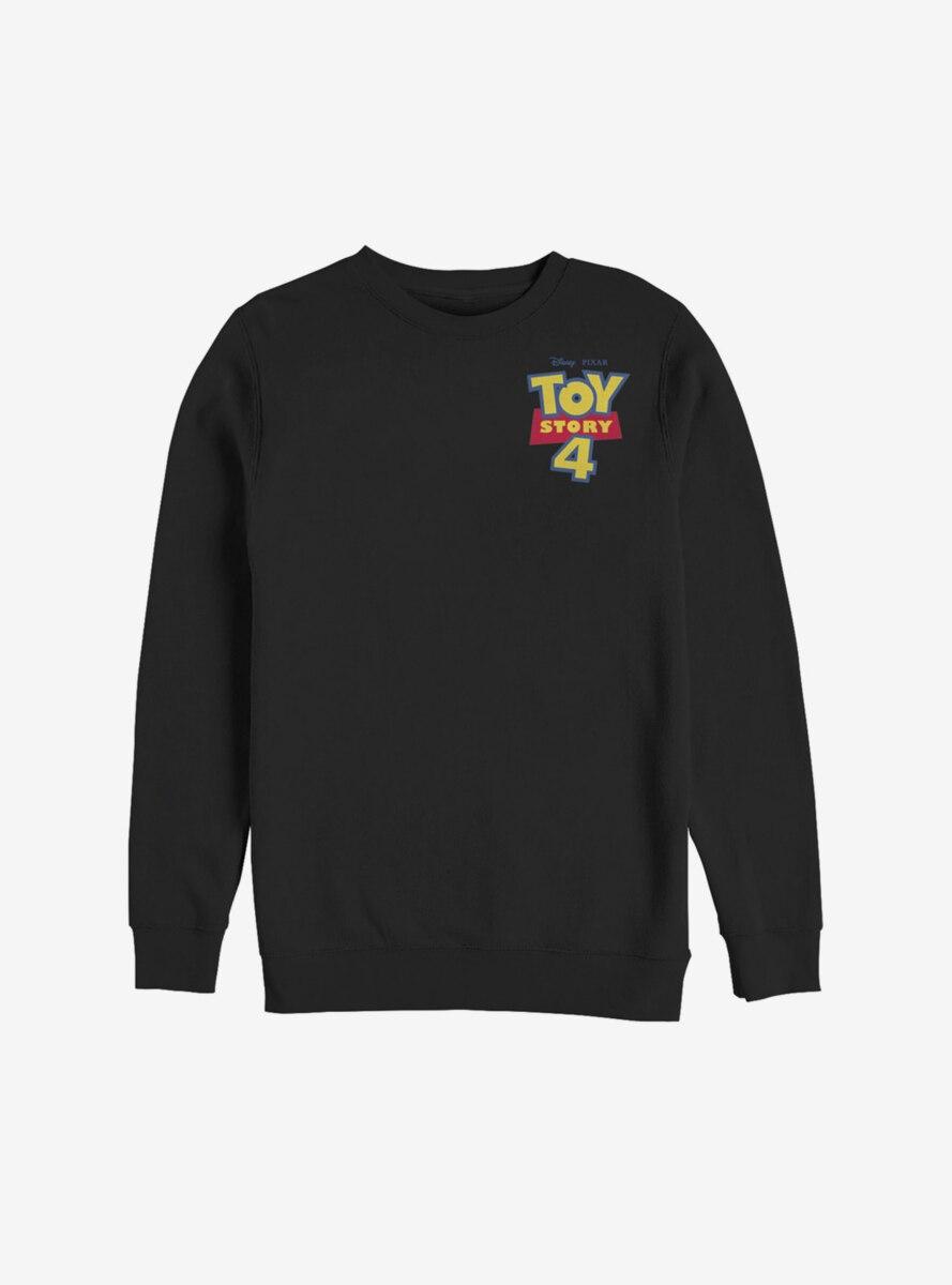 Disney Pixar Toy Story 4 Chest Color Logo Sweatshirt
