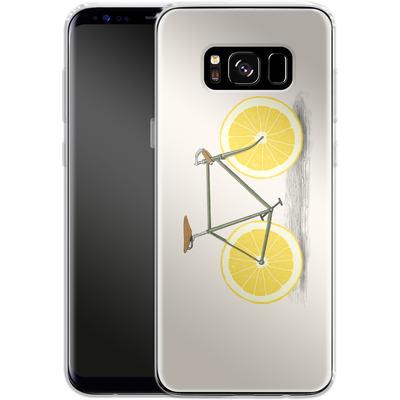 Samsung Galaxy S8 Silikon Handyhuelle - Zest von Florent Bodart