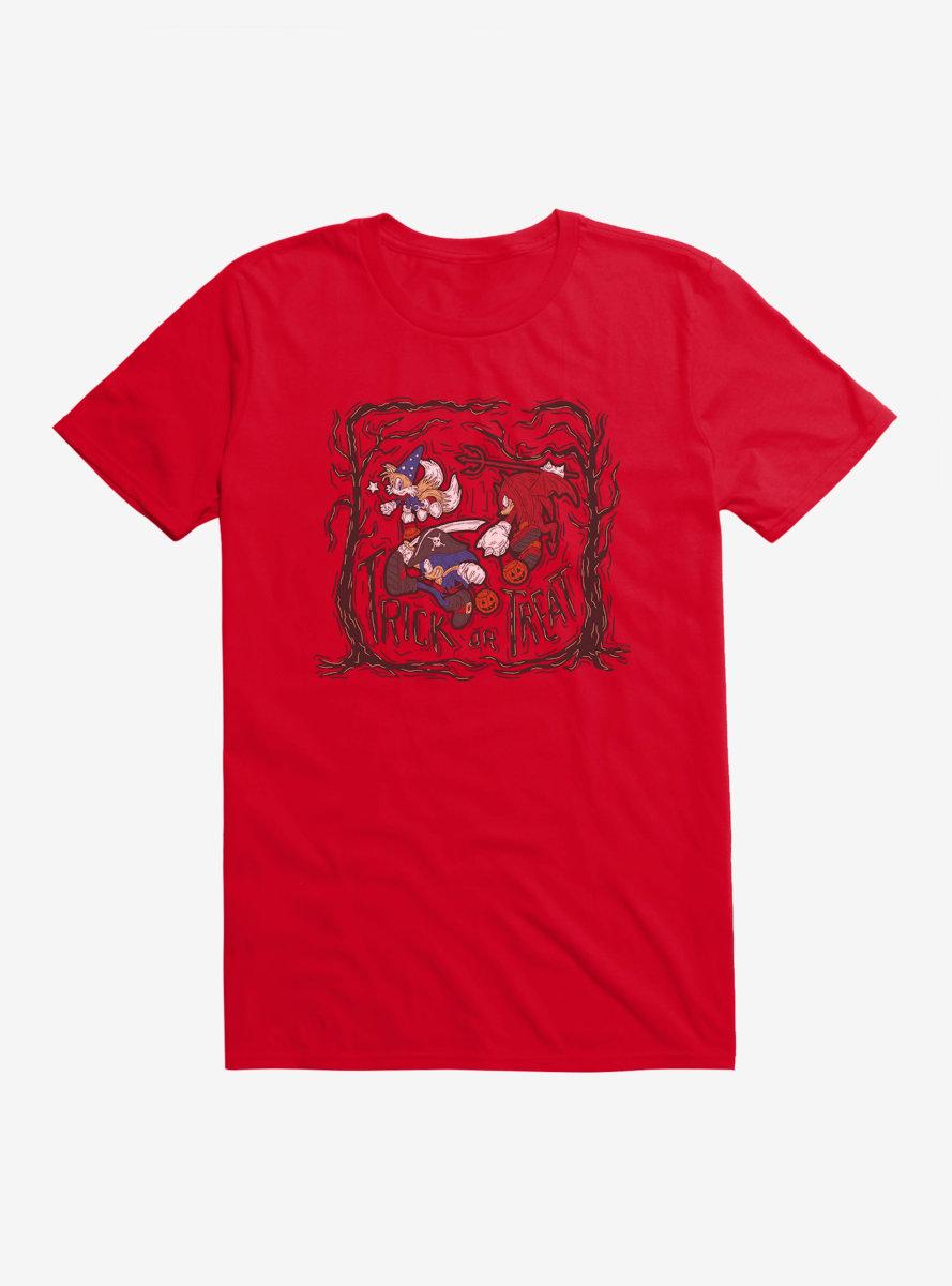 Sonic The Hedgehog Halloween Trick Or Treat T-Shirt
