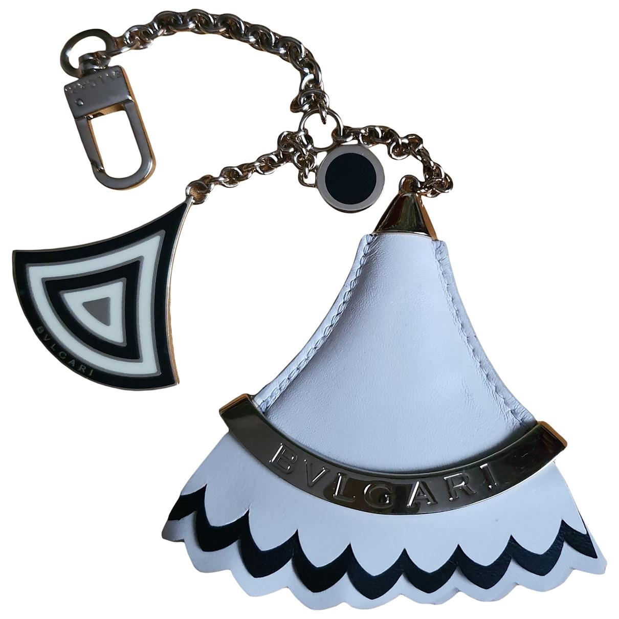 Bvlgari - Bijoux de sac   pour femme en metal - blanc