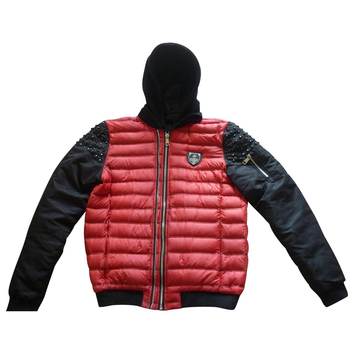 Horpist - Manteau   pour homme - rouge
