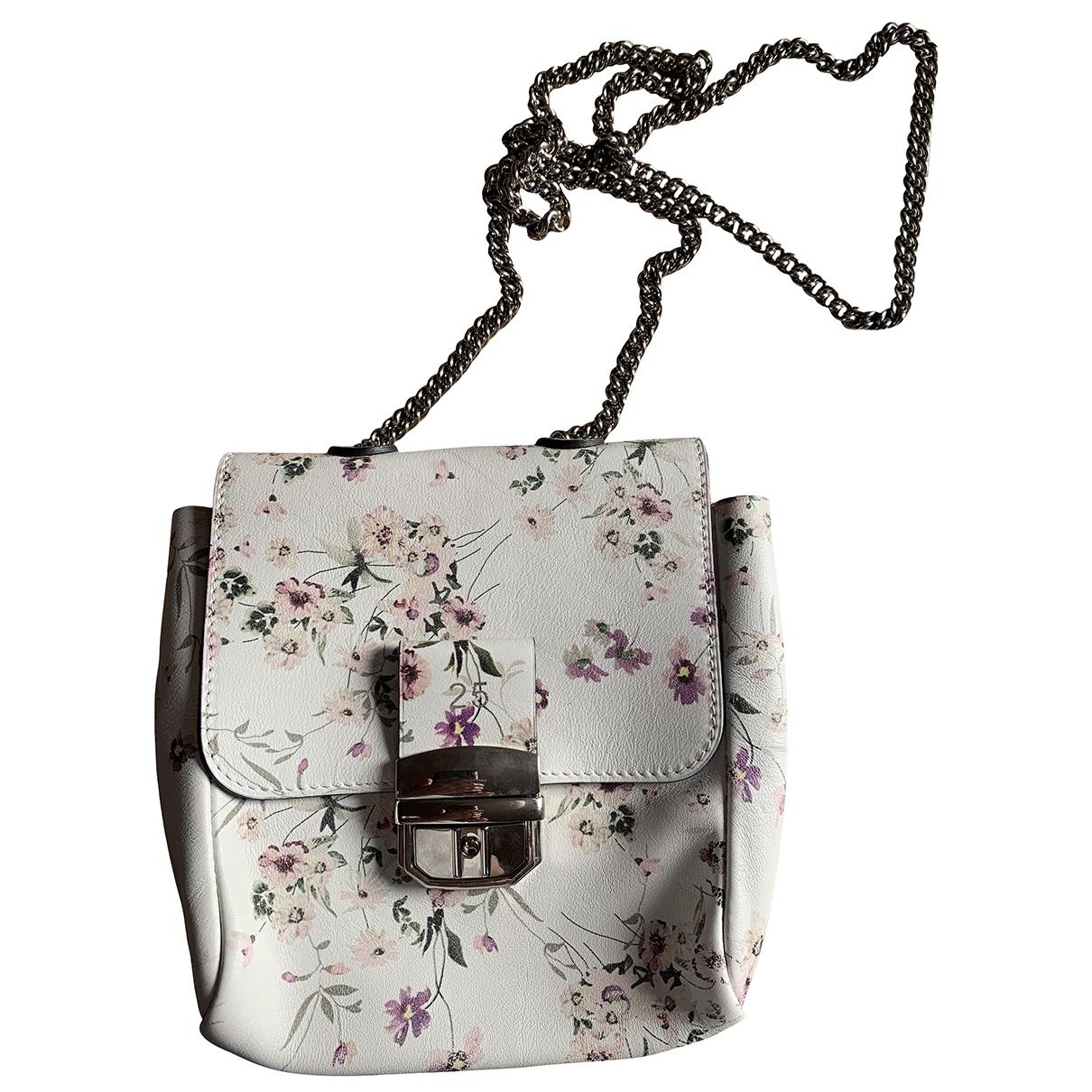 Roseanna \N Handtasche in  Weiss Leder