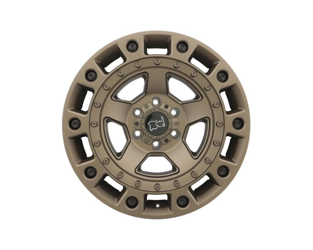 Black Rhino Cinco Bronze w/ Black Bolts Wheel 18x9.5 6x139.70|6x5.5 -18mm CB112.1