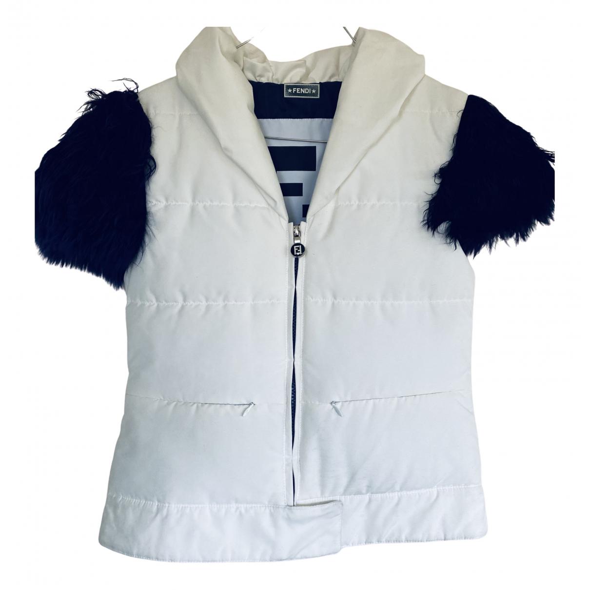 Fendi N White jacket for Women 38 IT