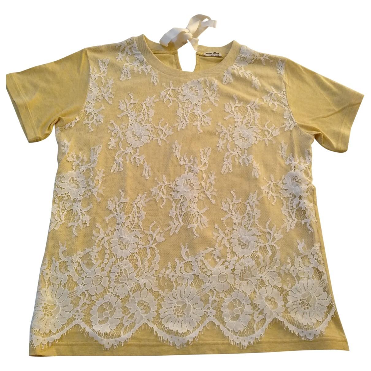 Miu Miu - Top   pour femme en coton