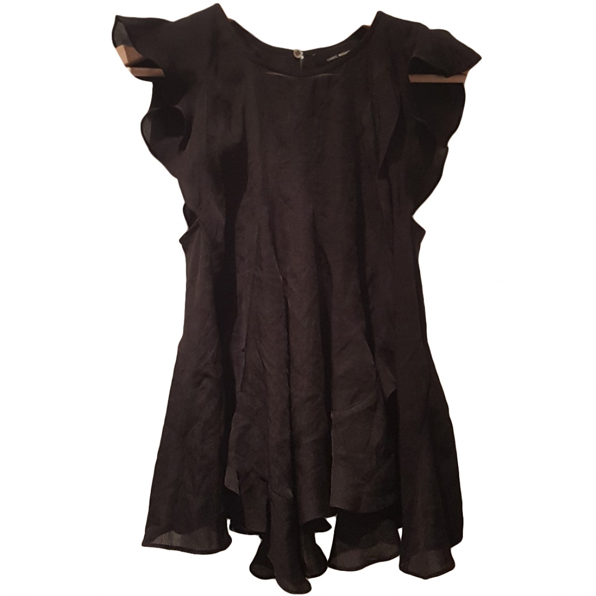 Isabel Marant \N Black Silk  top for Women 36 FR