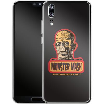 Huawei P20 Silikon Handyhuelle - Monster Mash von caseable Designs