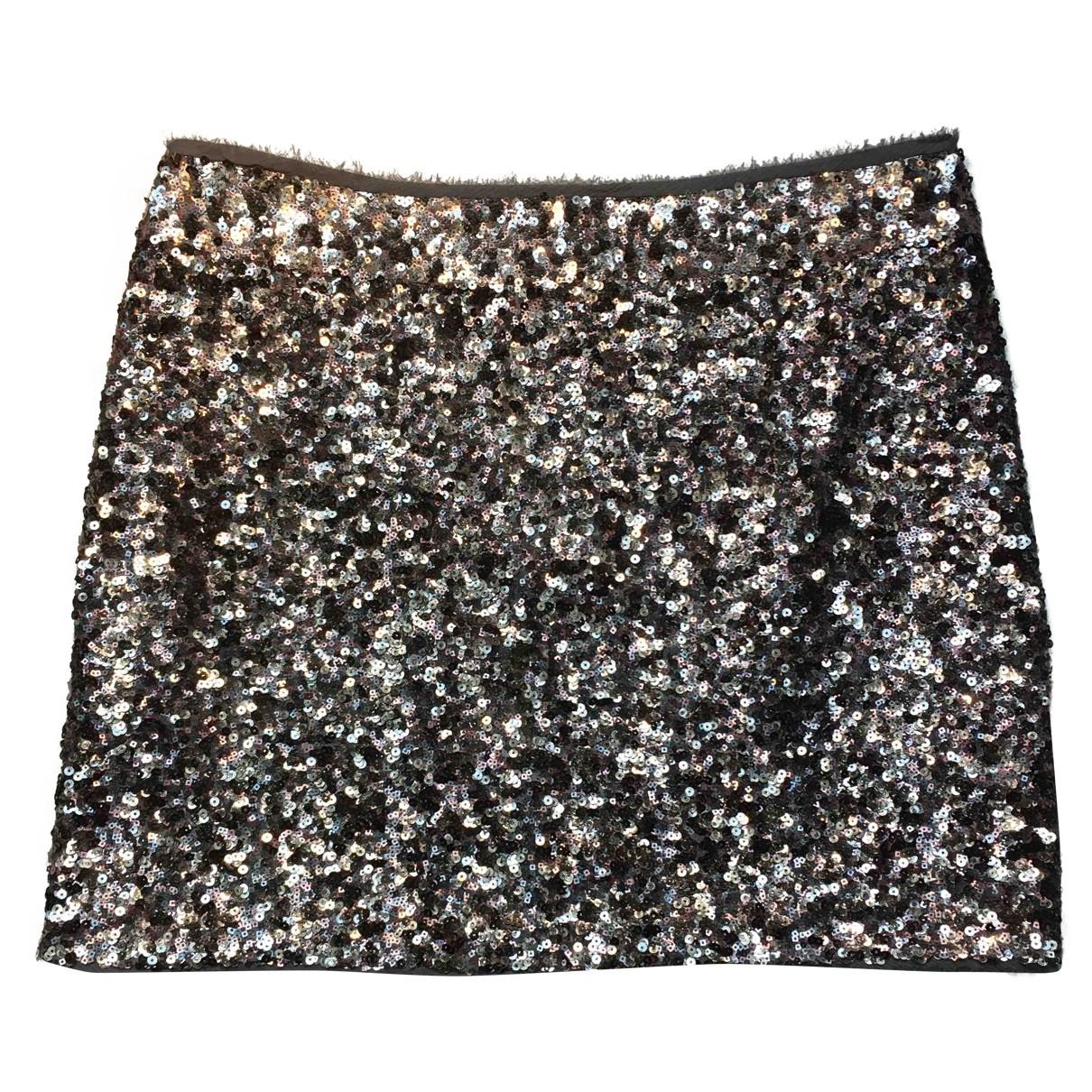 Zadig & Voltaire \N Grey Glitter skirt for Women 36 FR