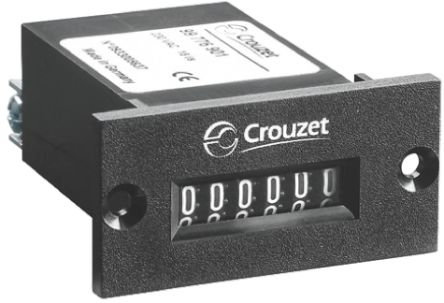 Crouzet CIM24, 6 Digit, Mechanical, Counter, 110 V dc
