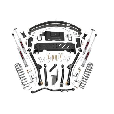 Rough Country 6.5 Jeep Long Arm Suspension Lift System with N3 Shocks - 61822