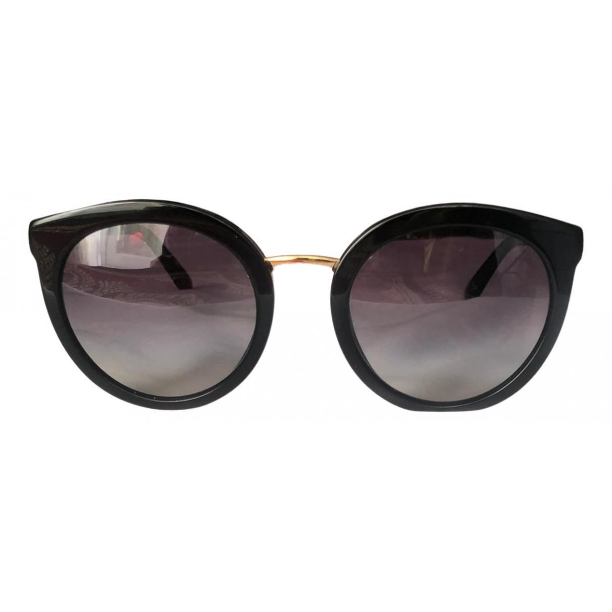 Dolce & Gabbana \N Sonnenbrillen in  Schwarz Kunststoff