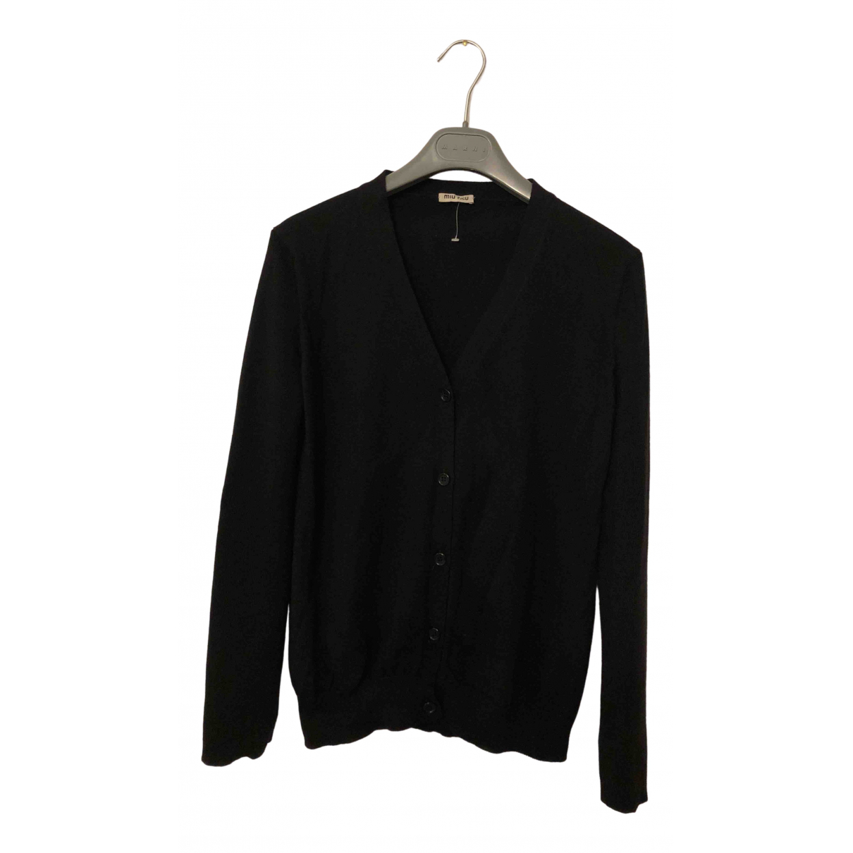 Miu Miu \N Black Wool Knitwear for Women 40 IT