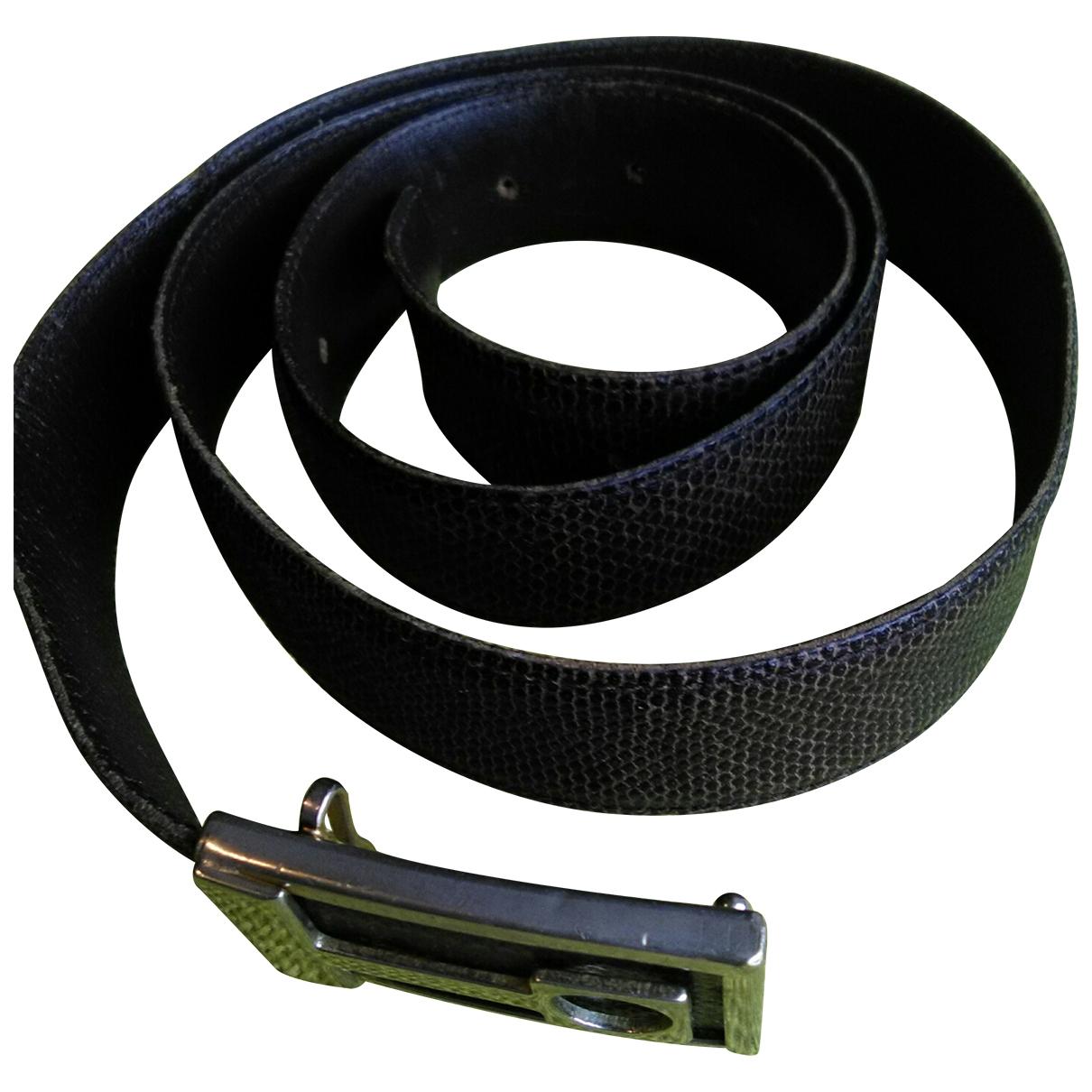 Cinturon de Lagartija Non Signe / Unsigned