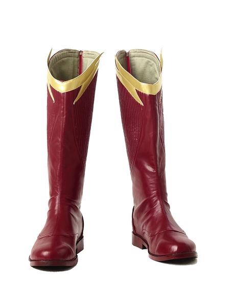 Milanoo The Flash Season 2 Barry Allen Halloween Cosplay Shoes