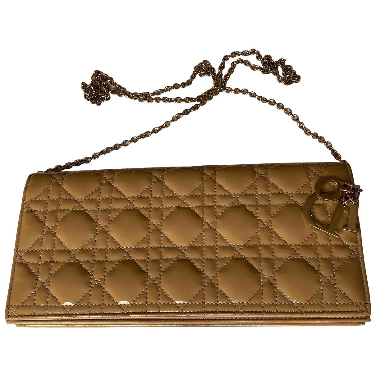 Pochette Lady Dior de Charol Dior