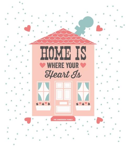 Everyday Framed Canvas Print, Black, 8x10, Home Décor -Heart House (Canvas)