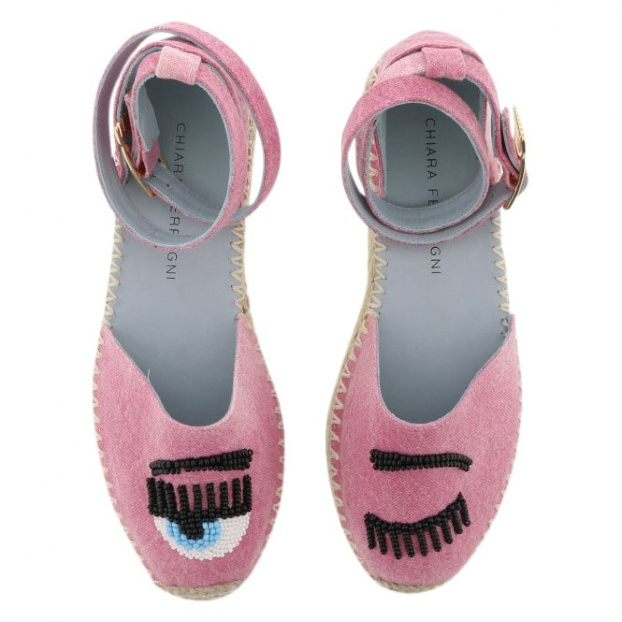 Chiara Ferragni \N Pink Sandals for Women 40 EU