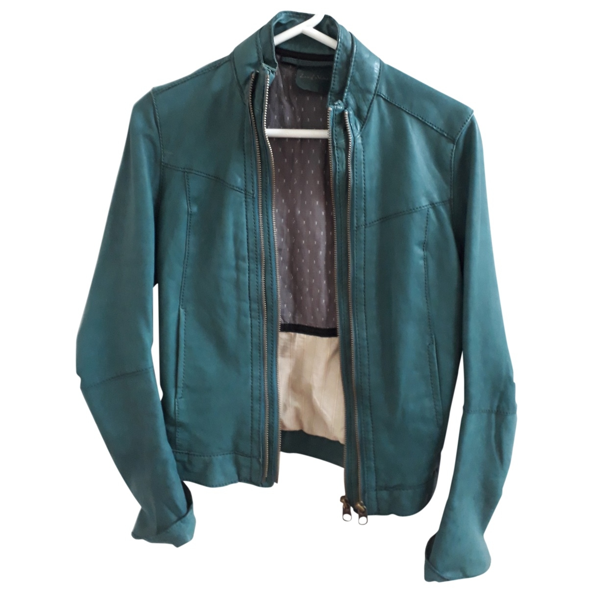 Zadig & Voltaire \N Turquoise Leather jacket for Women S International