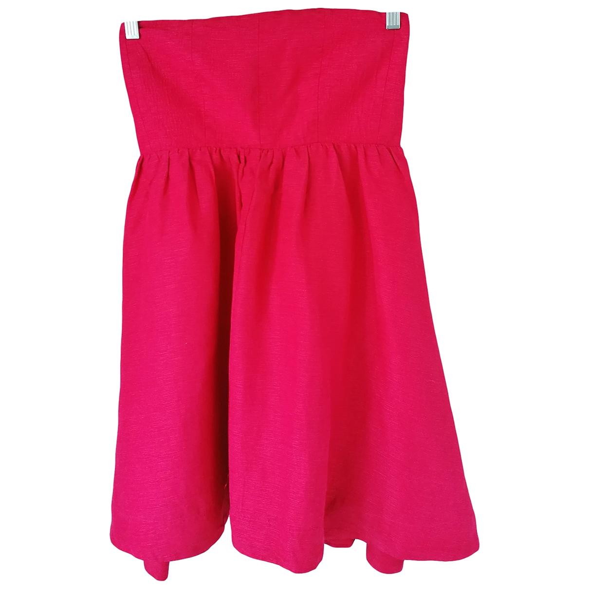 Won Hundred \N Kleid in  Rosa Seide