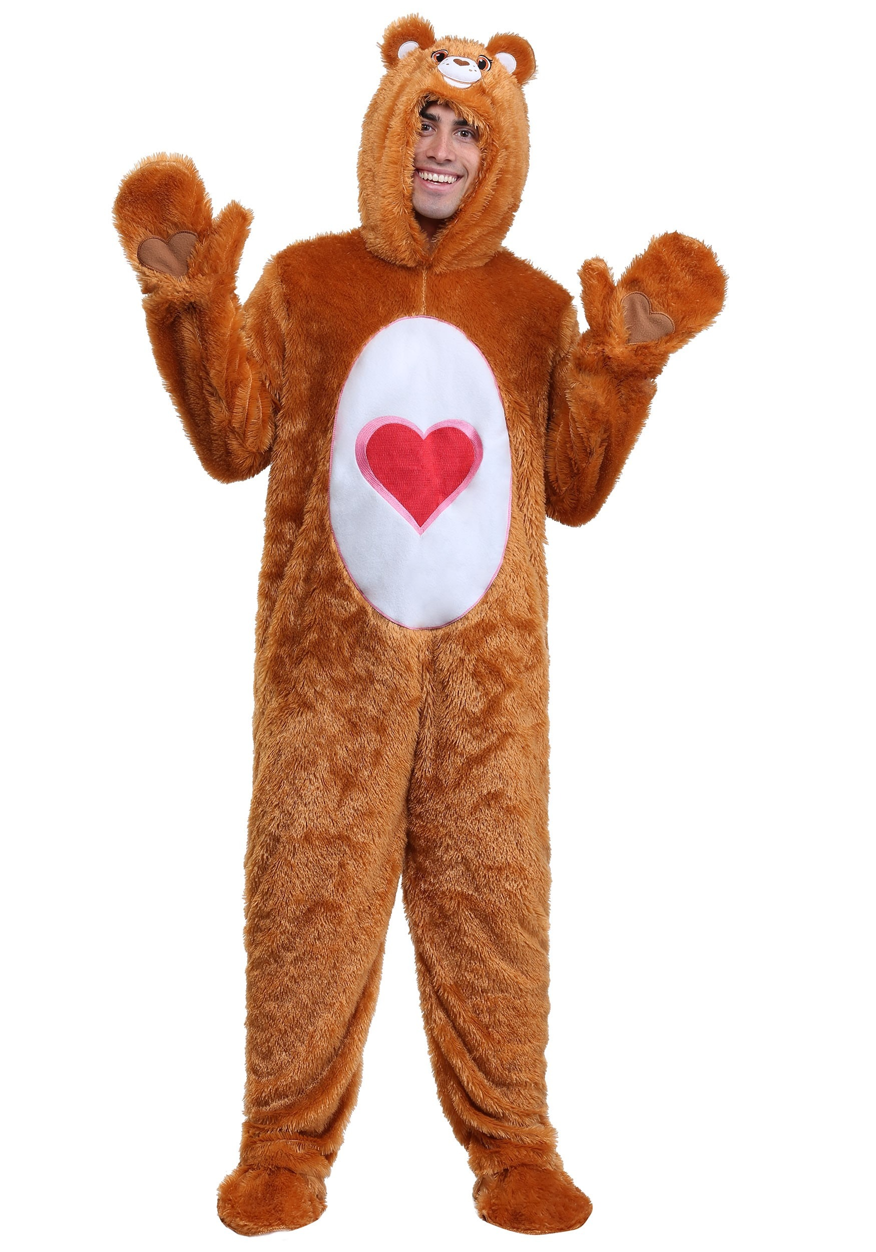 Adult Plus Size Classic Tenderheart Care Bears Costume