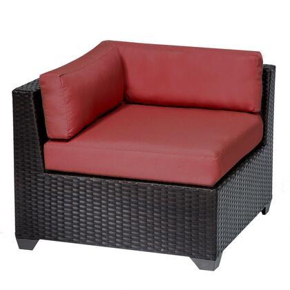 TKC010b-CS-DB-TERRACOTTA Belle Corner Sofa 2 Per Box with 2 Covers: Wheat and