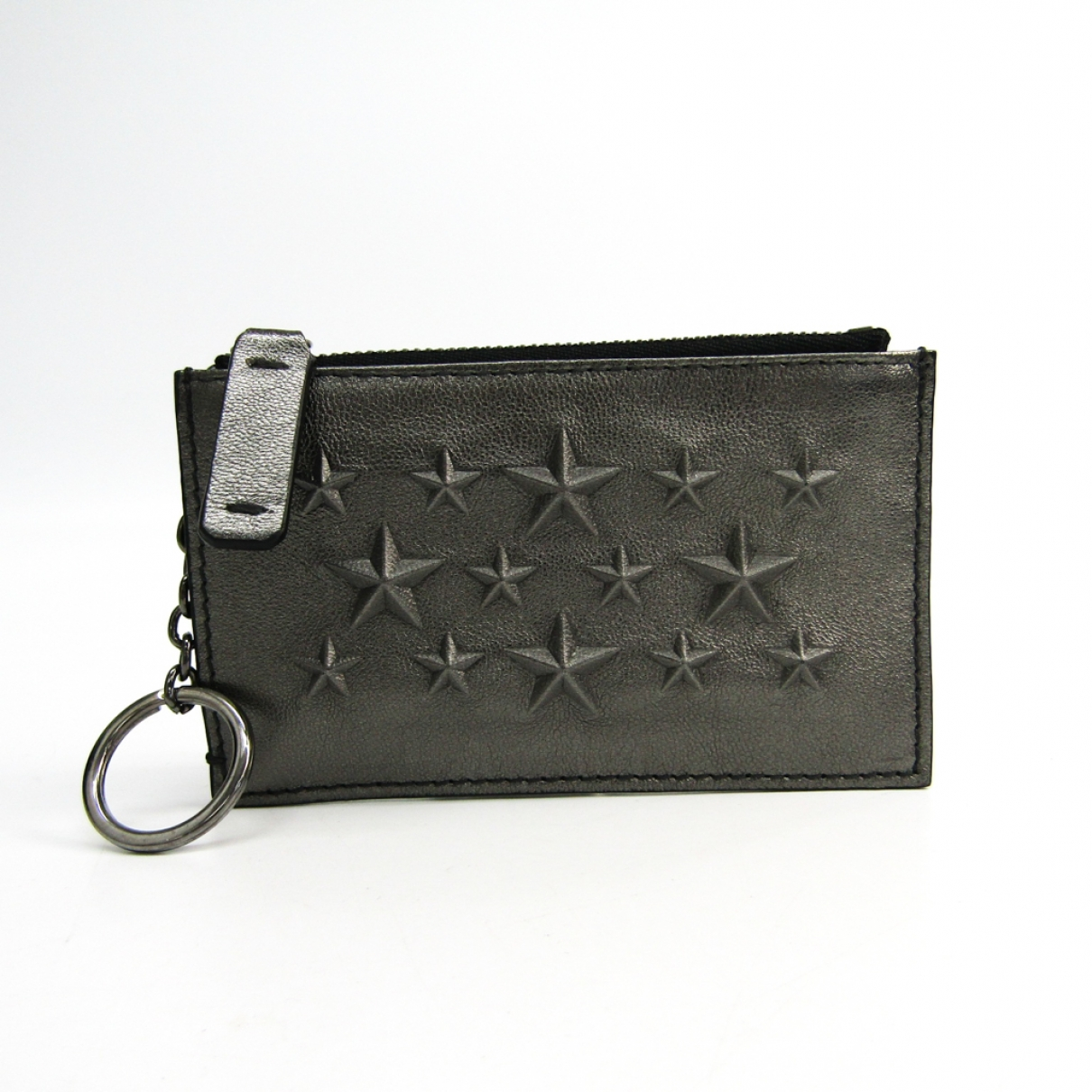 Jimmy Choo \N Anthracite Leather wallet for Women \N