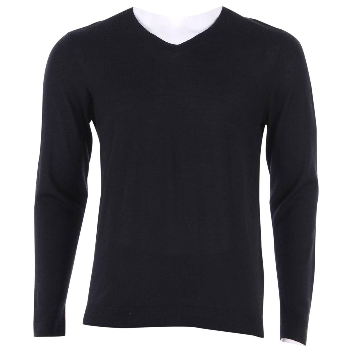 John Varvatos \N Pullover.Westen.Sweatshirts  in  Schwarz Synthetik