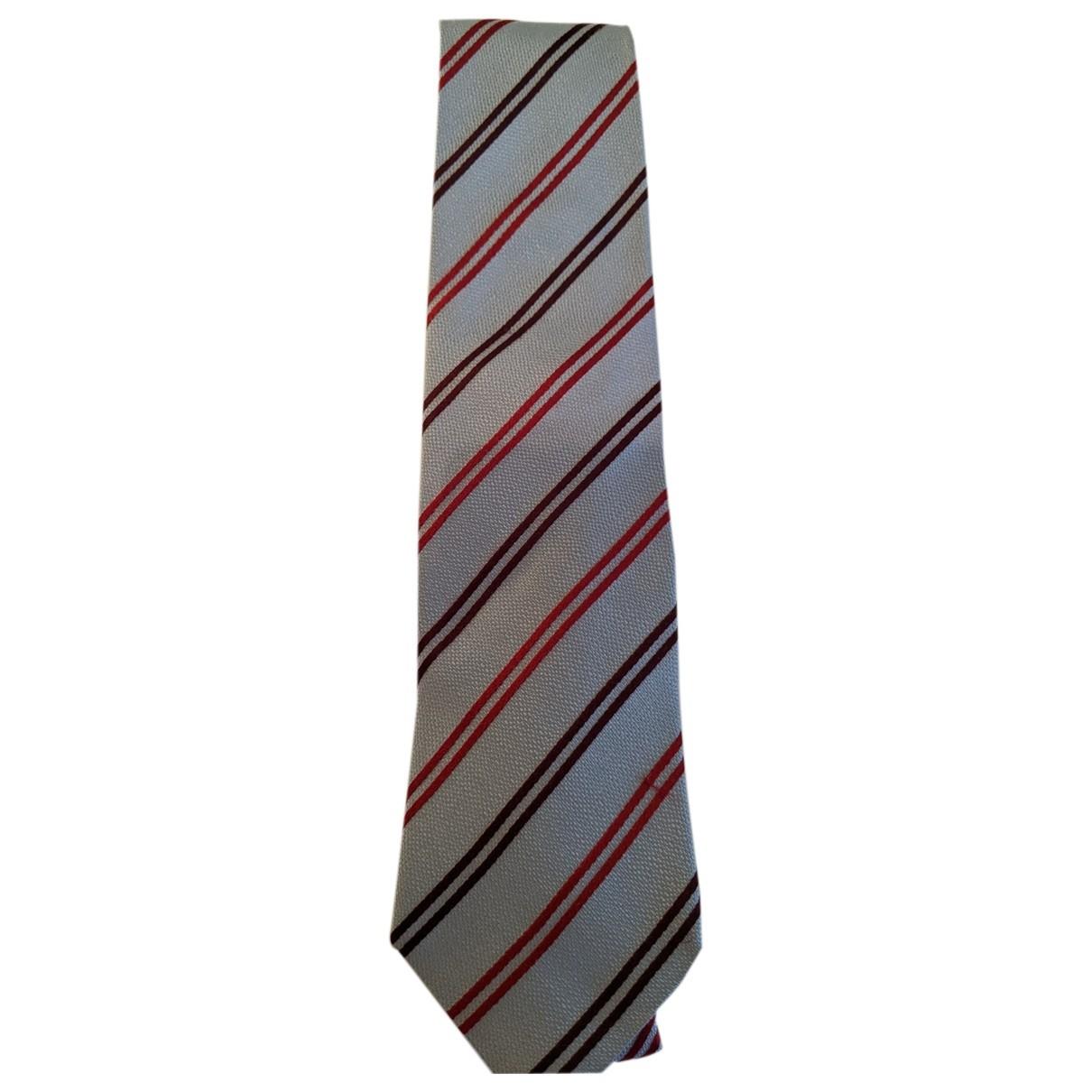 Ermenegildo Zegna - Cravates   pour homme en soie - bleu