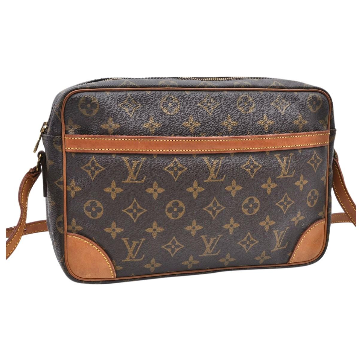 Bolso Trocadero de Lona Louis Vuitton
