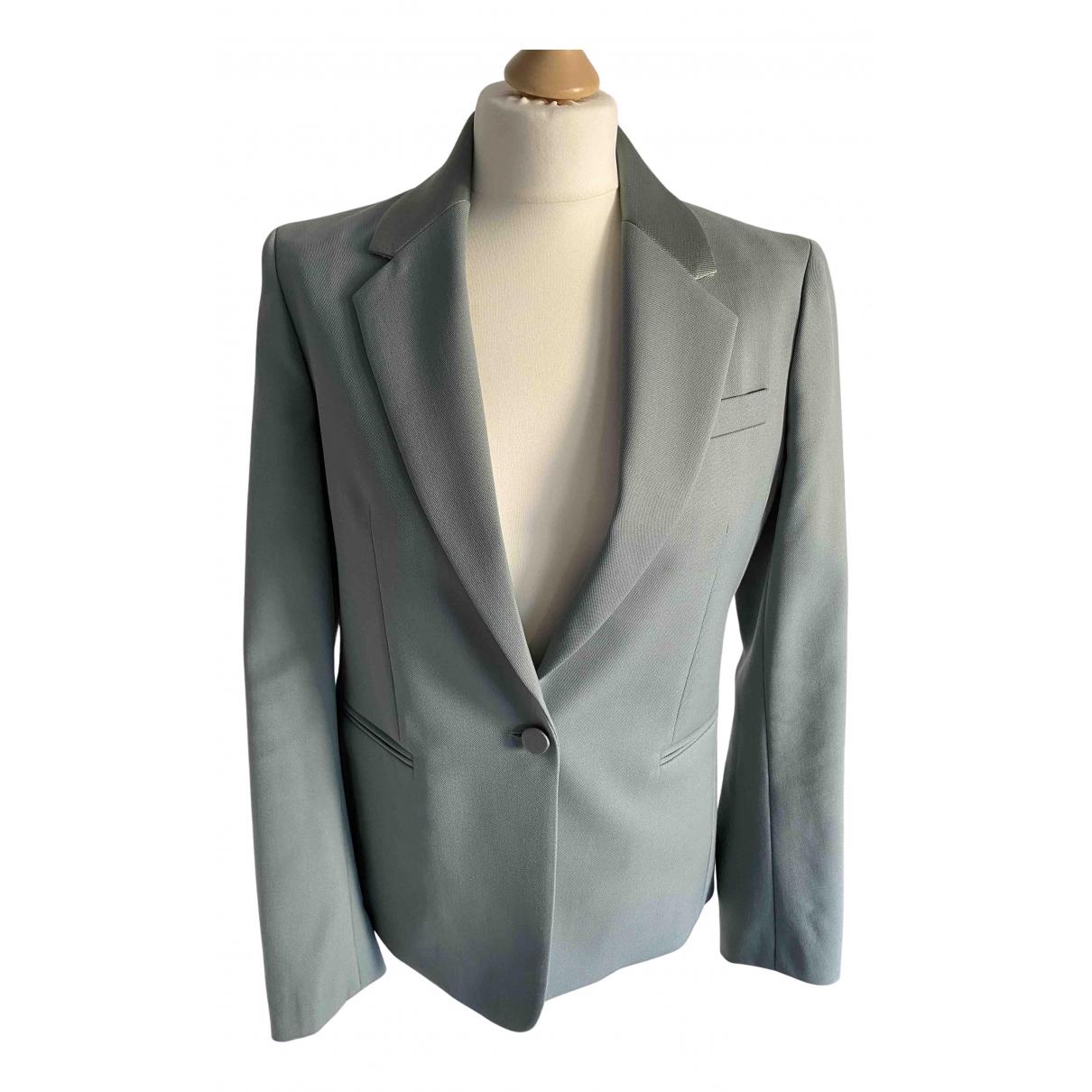 Joseph \N Blue Wool jacket for Women 38 FR