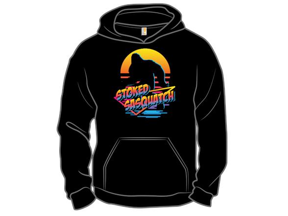 Stoked Sasquatch Crewneck Sweatshirt