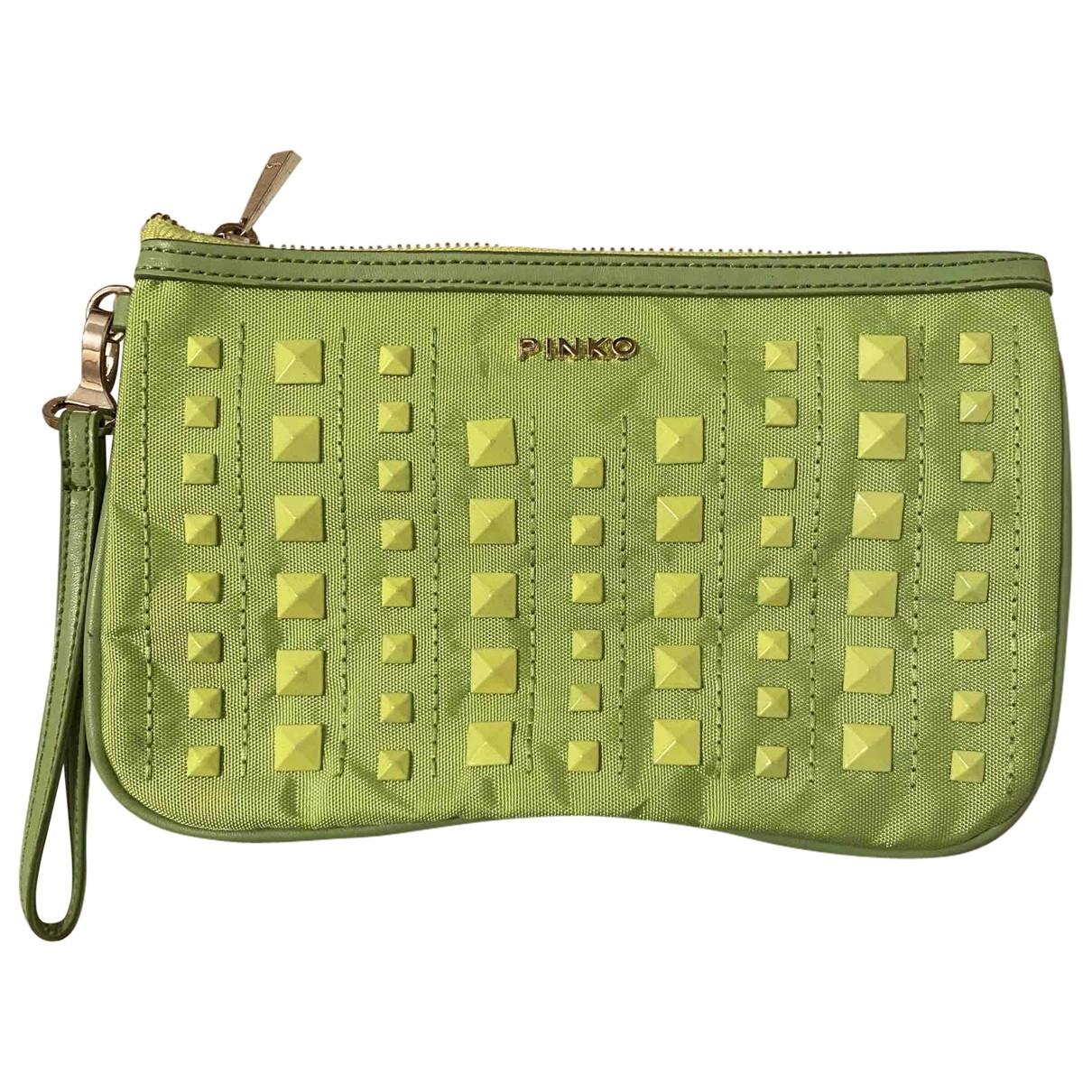 Bolsos clutch en Sintetico Verde Pinko