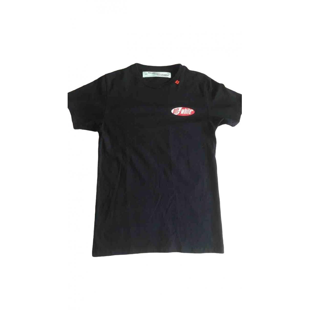 Off-white - Tee shirts   pour homme en coton - noir
