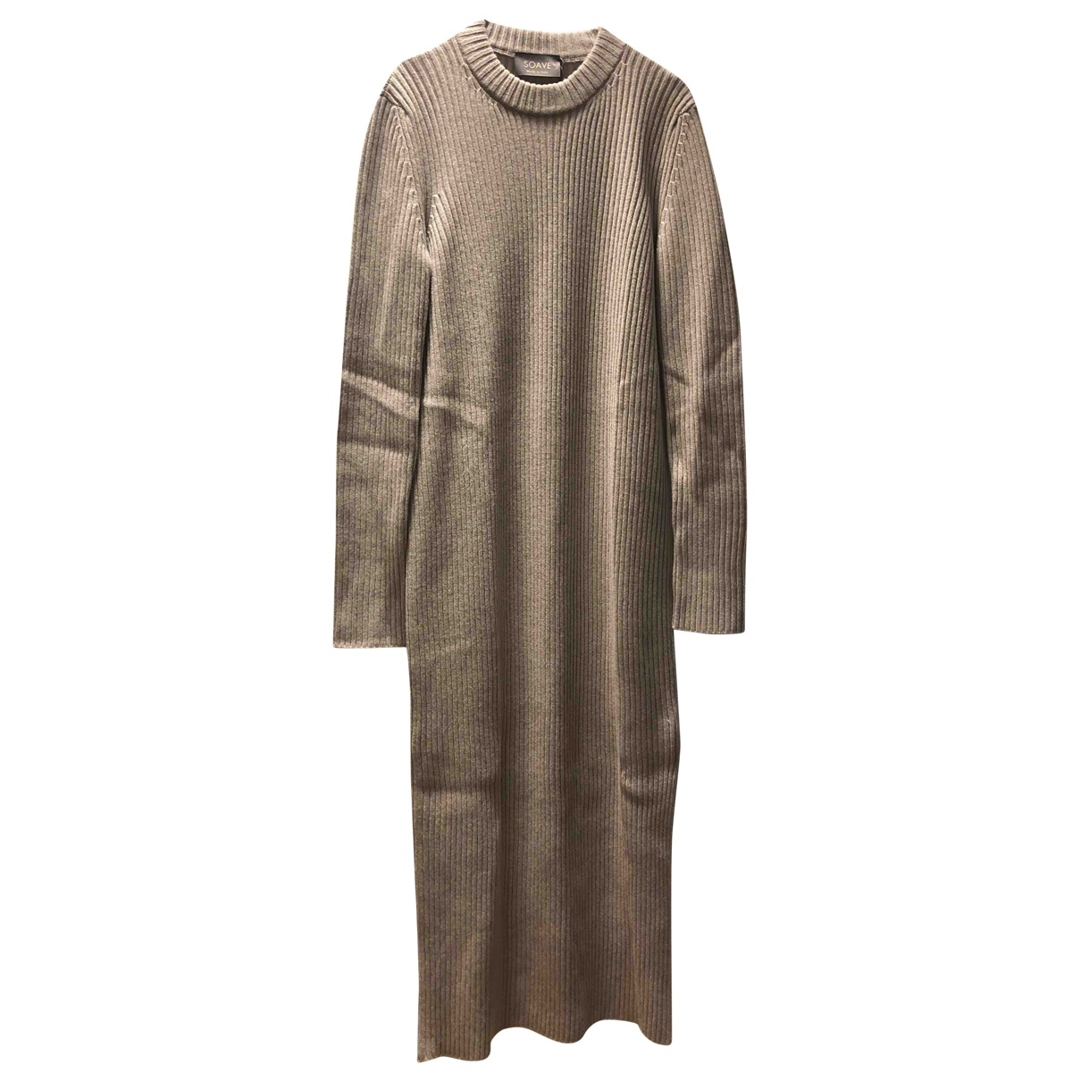 Non Signé / Unsigned \N Grey Cashmere Knitwear for Women 44 IT