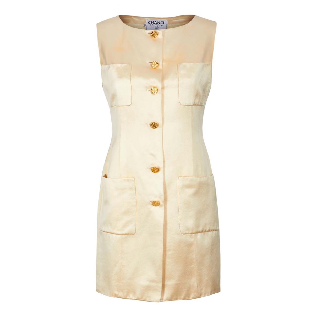 Vestido de Seda Chanel