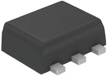 DiodesZetex Diodes Inc Quad Switching Diode, 2x Series Pair, 215mA 75V, 6-Pin SOT-563 BAV99BRVA-7 (25)