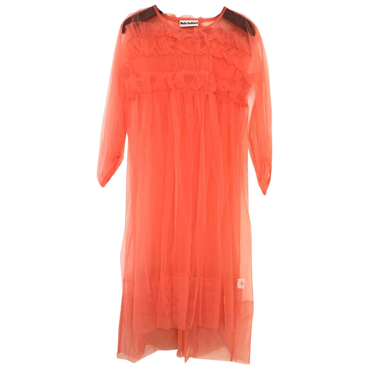 Molly Goddard \N Kleid in  Rosa Polyester