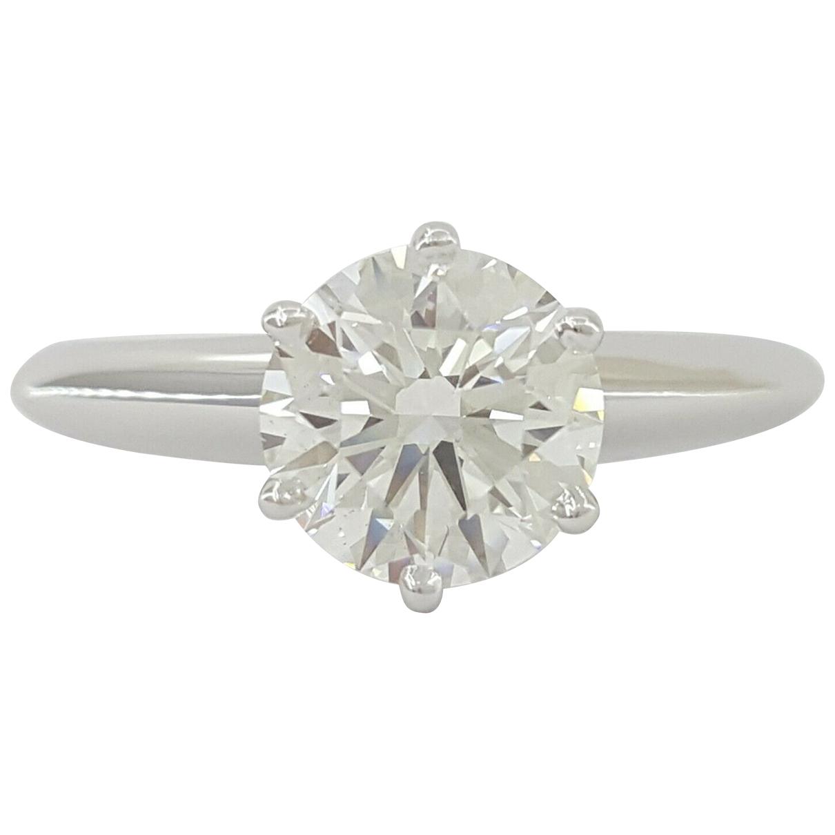 Tiffany & Co - Bague   pour femme en platine - blanc