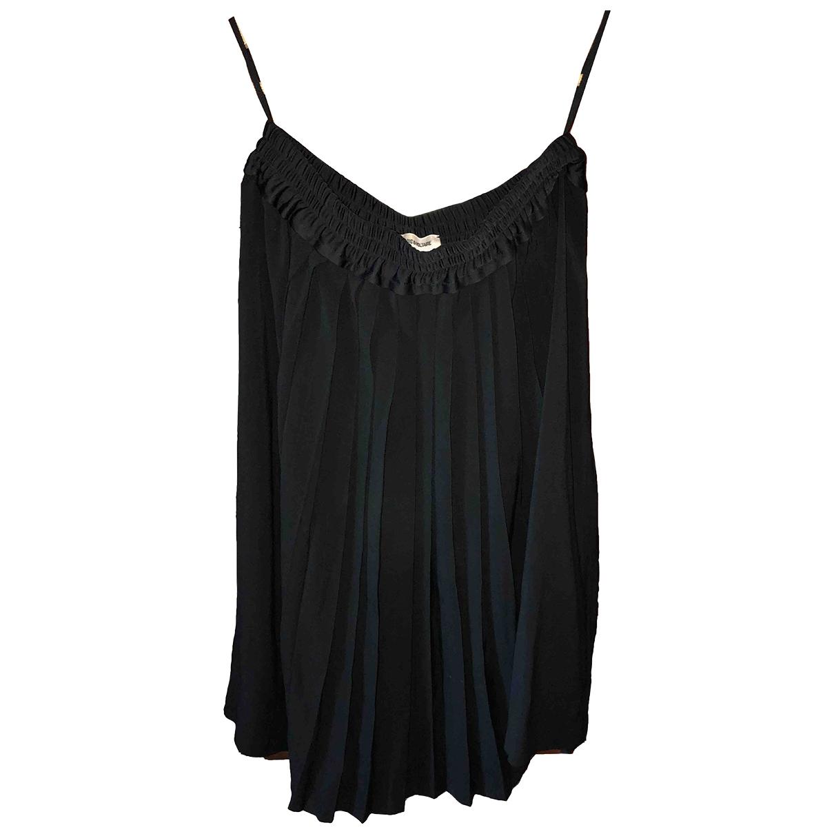 Zadig & Voltaire Fall Winter 2019 Black skirt for Women 40 FR
