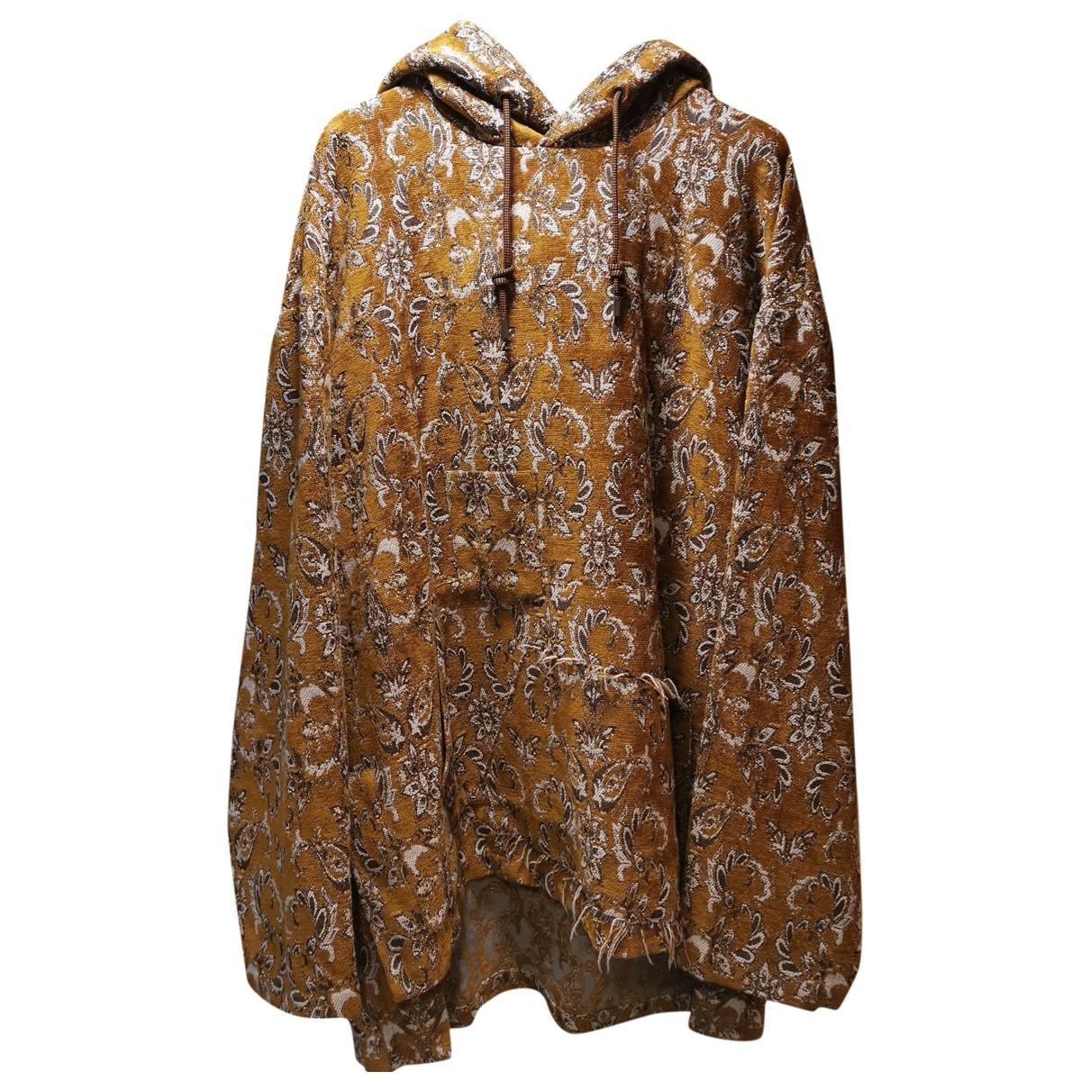 Wooyoungmi \N Pullover.Westen.Sweatshirts  in  Gelb Polyester