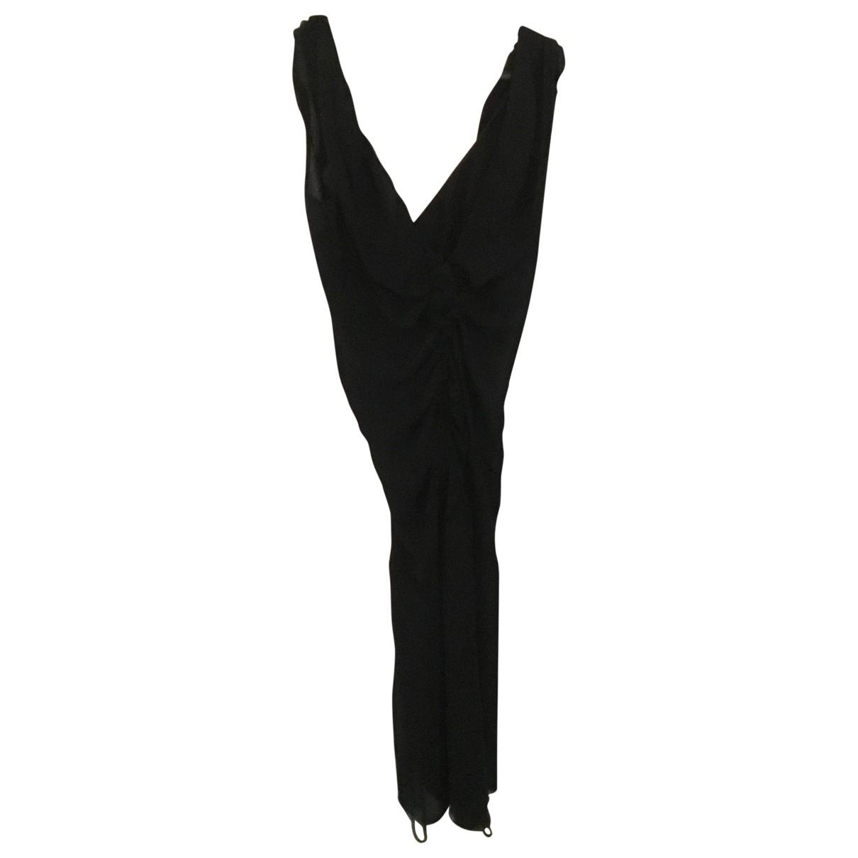 Prada \N Black Silk dress for Women 44 IT