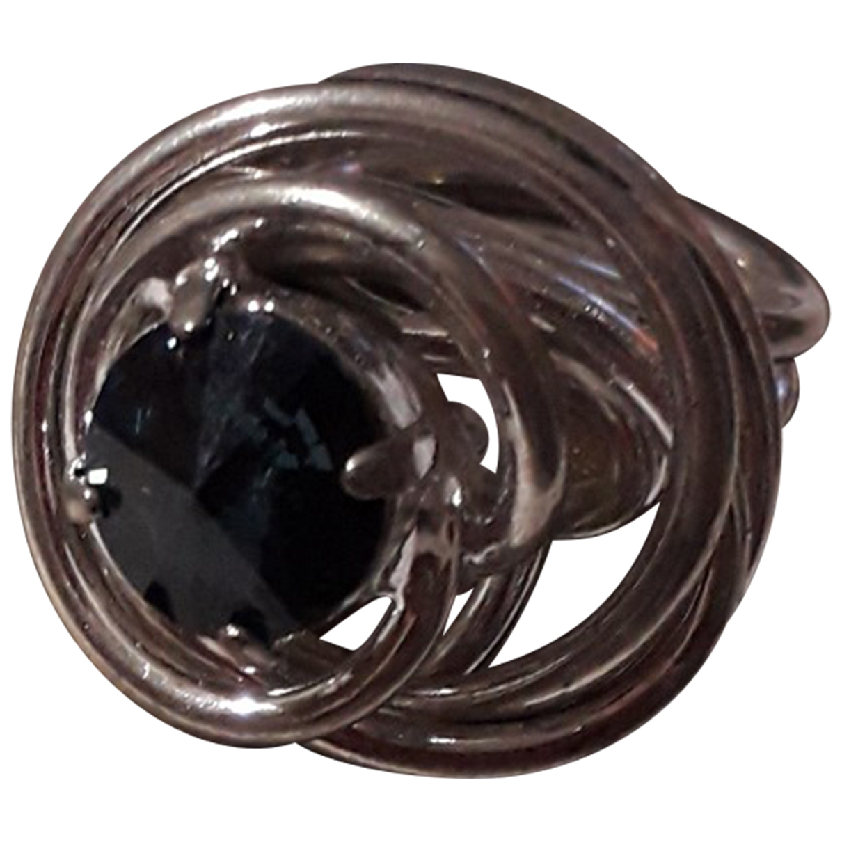 Swarovski \N Silver Steel ring for Women \N