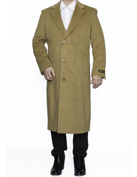 Mens Big And Tall Trench Coat Overcoat Topcoat 4XL 5XL 6XL Camel