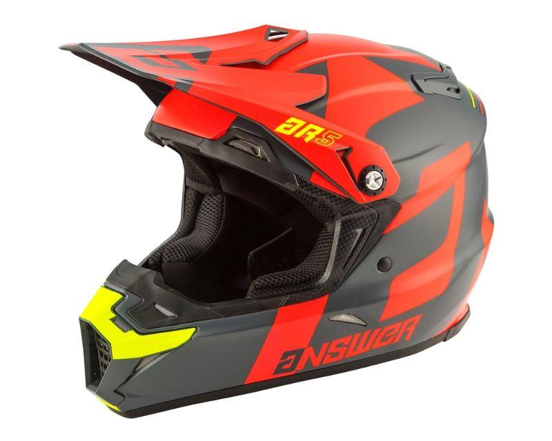Answer 444413 AR5 Voyd Helmet Orange Charcoal Hyperacid 2XL