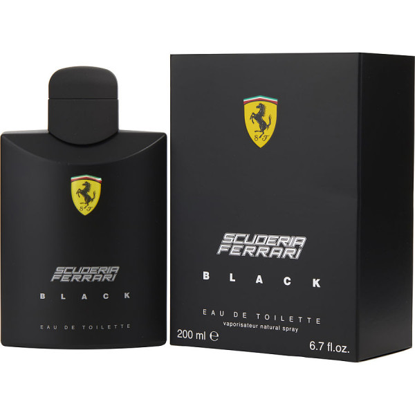 Scuderia Black - Ferrari Eau de Toilette Spray 200 ml