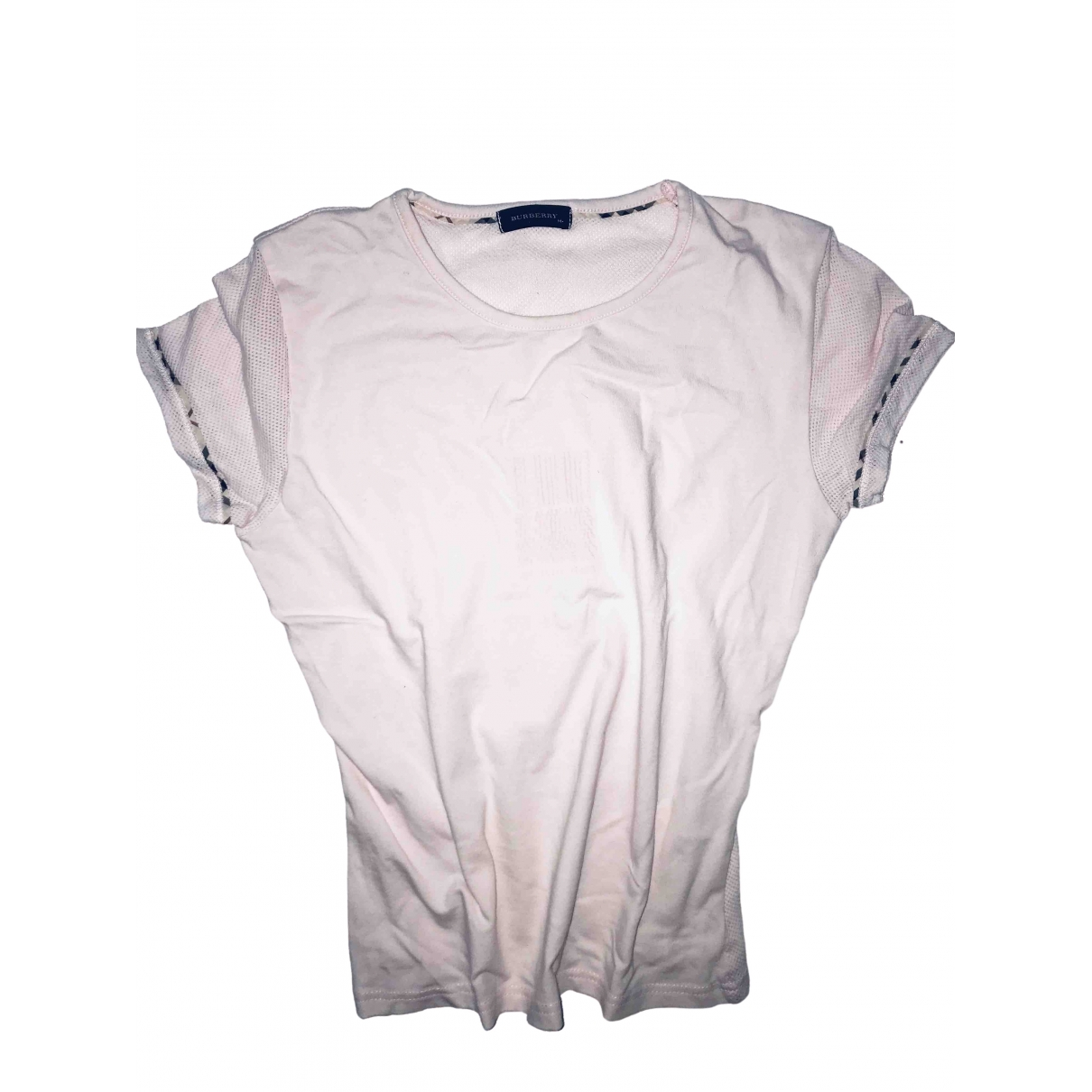Burberry \N Pink Cotton  top for Women 32 FR