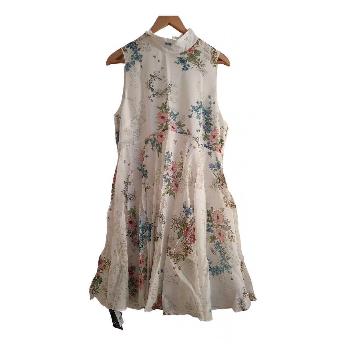 Topshop Unique - Robe   pour femme en soie - blanc
