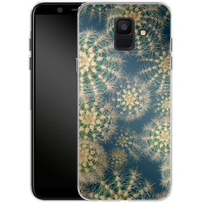 Samsung Galaxy A6 Silikon Handyhuelle - Kingwood Cactus von Joy StClaire