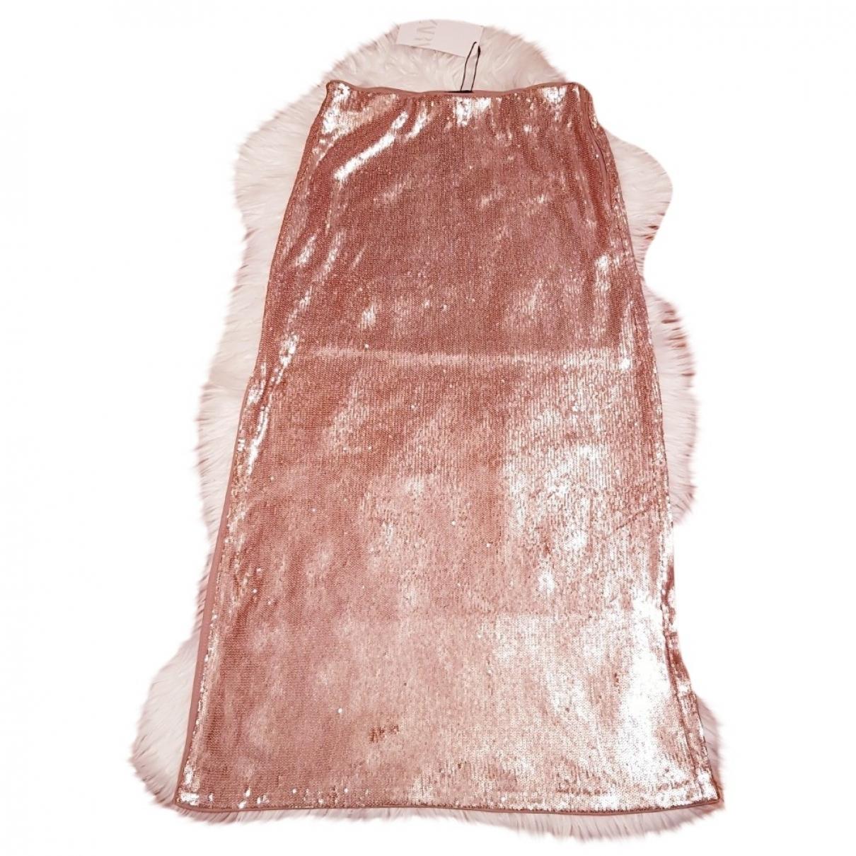 Zara \N Camel Glitter skirt for Women S International