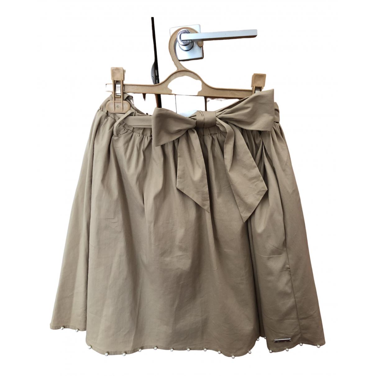 Twin Set \N Ecru Cotton skirt for Kids 16 years - M FR